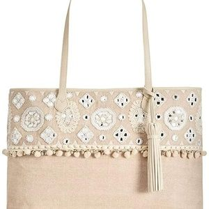 Angel By L. Martino Extra-Large Boarding Tote Natu